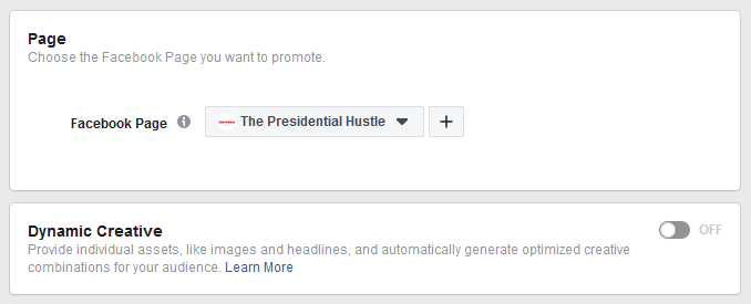 steps to create facebook lead ads step 2